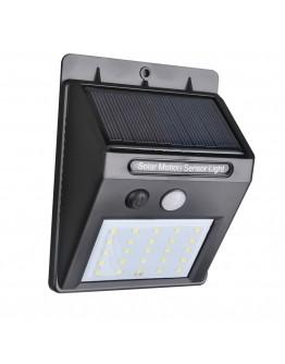Соларна стенна лампа 25 LED или 30 LED със сензор за движение и осветеност
