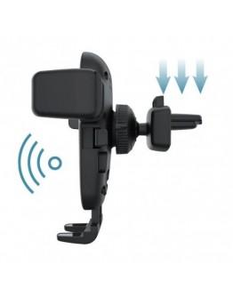 Безжично зарядно и универсална стойка за телефон в автомобил 10W Fast Wireless Charger