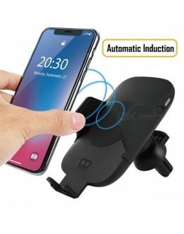 Безжично зарядно и стойка за телефон със сензор Fast Wireless Charger C9