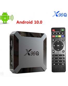 Смарт Андроид ТВ Бокс – Мултимедия плейър X96Q Allwinner H313, Smart TV BOX, Android 10, 4K, WiFi, реални 2GB/16GB