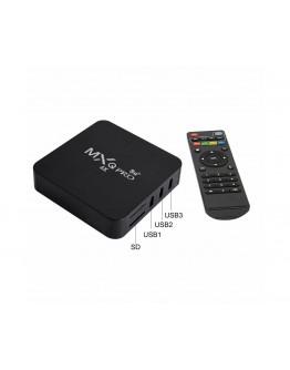 Смарт Android TV Box MXQ Pro 5G 4К, Android 10.1, Dual WiFi, 4GB RAM, 32GB ROM
