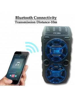 Преносима Bluetooth тонколонка KTS-1062 2x5W с FM радио и МP3