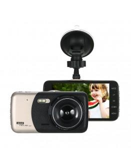 Видеорегистратор - DVR WDR Full HD с две камери, 4 инча, 5Mpx