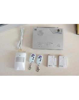 Домашна аларма с безжични датчици и дистанционно управление