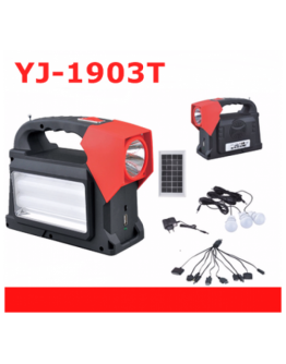 Многофункционална преносима соларна LED осветителна система YJ-1903T