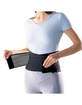 Пристягащ и придържащ колан за кръста с пришити еластични ленти.