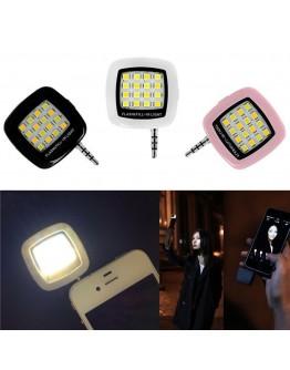 Мощна допълнителна светкавица за телефон с 16 LED диода